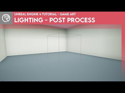 Unreal Engine 4 Tutorial - Lighting - Post Process (Basics)