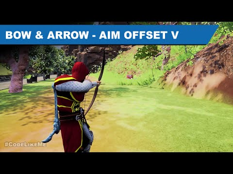 Bow and Arrow Aim Offset IV - Unreal Open World #410