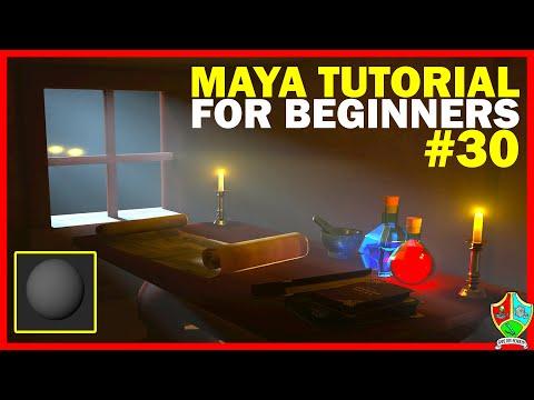 Creating your 1st MATERIAL in Maya - Lambert | Maya 2020 Tutorial for Beginners
