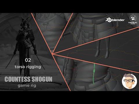 Countess Shogun Rigging - 02 - Torso Rigging