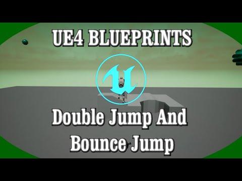 DPTV UE4 Blueprints Tutorial 21 (Double Jump And Bounce Jump)