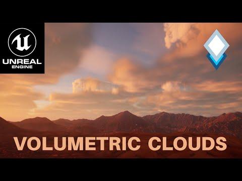 UE4.26 Volumetric Clouds Tutorial