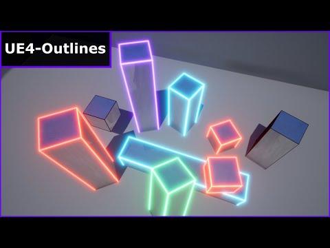 Multi-Colored Outlines - ( UE4 Tutorial)