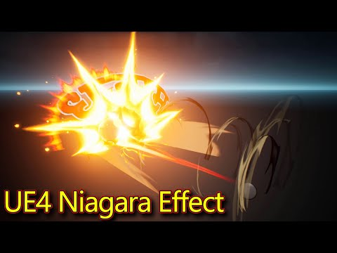 UE4 Niagara Attack Effect | Subscribe for Next Tutorial | Download Project Files