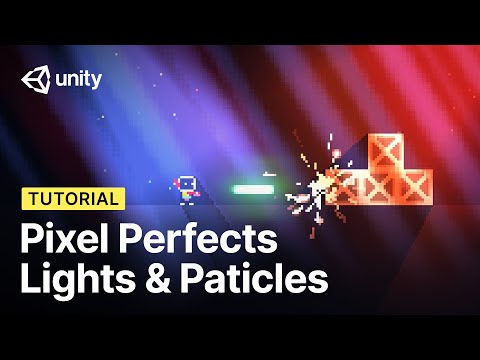 Pixel Perfect Lights and Particles in Unity! (Tutorial)