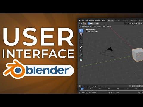 Learning the Blender 2.90 User Interface