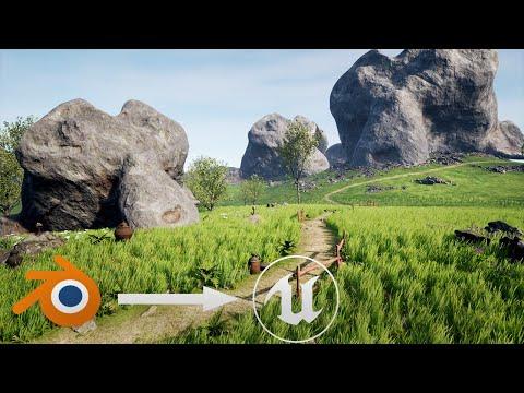 Learn Unreal Engine 4 for Blender Users - UE4 Beginner Tutorial
