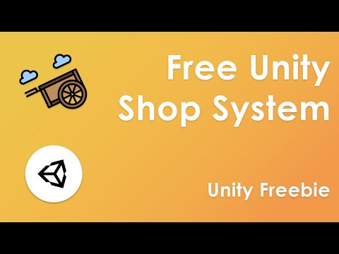 Unity Freebie - NPC Shop System