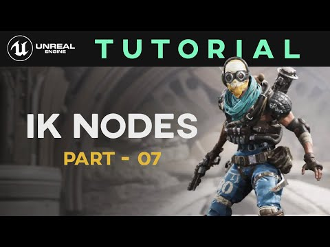Control Rig Tutorial - Part 07 - IK Nodes | Unreal Engine 4 | Sonali Singh