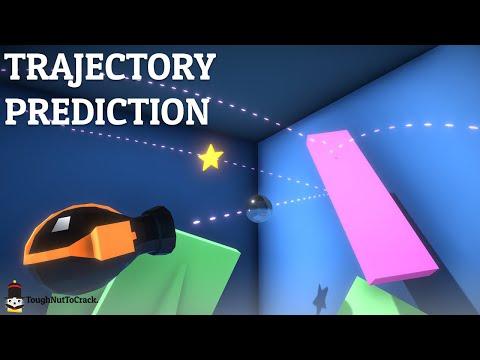 Trajectory prediction in Unity