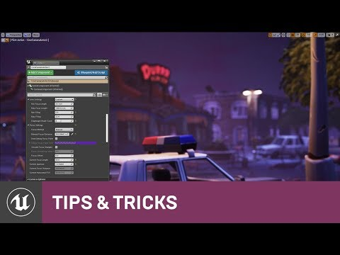 Cinematic Depth of Field | Tips & Tricks | Unreal Engine