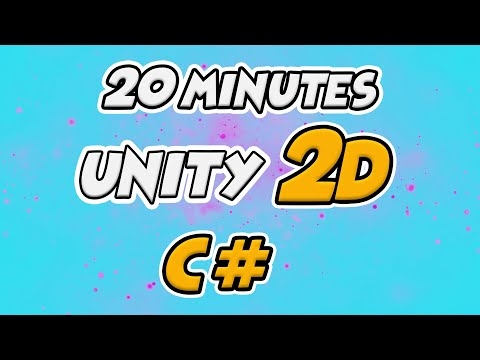 Learn C# for 2D Unity Game Development in 20 Minutes