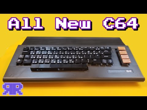 World's 1st All New Commodore 64   New keycaps