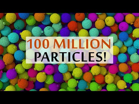 This Is What Simulating a 100 Million Particles Looks Like!