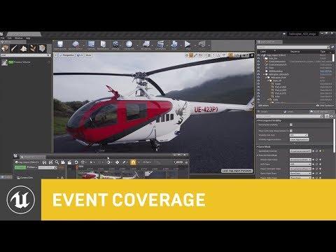 Design Visualization Using UE 4.23 | SIGGRAPH 2019 | Unreal Engine