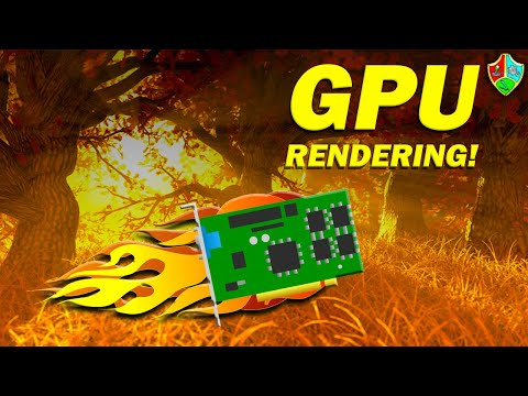 How to Enable GPU Rendering in Maya