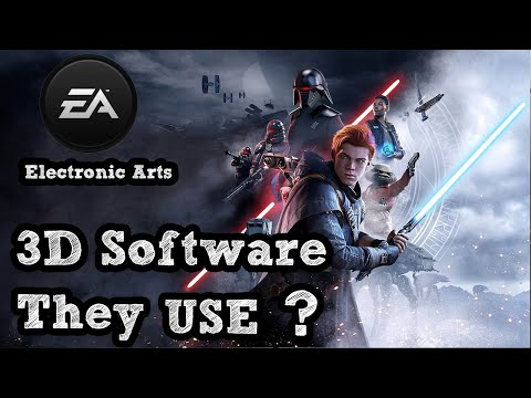 3D Software that EA Uses