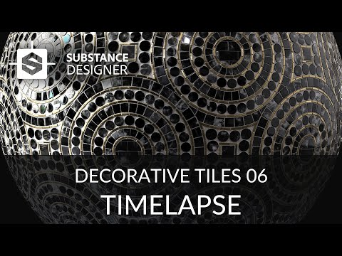 Substance Designer - Decorative Tiles 06