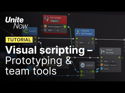 Visual Scripting for programmers | Unite Now 2020