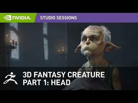 Creating a 3D Fantasy Creature w/ Maria Panfilova - Pixologic Zbrush | Part 1: Head