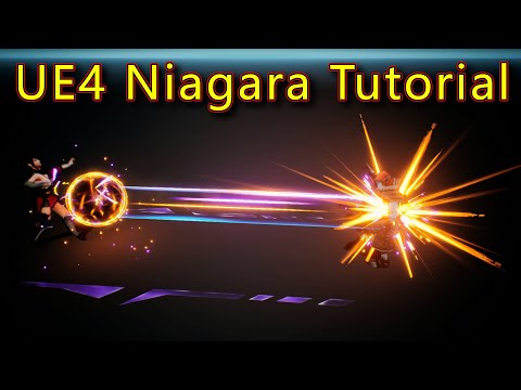 Attack Effect | Unreal Engine Niagara Tutorials | UE4 Niagara Attack Effect