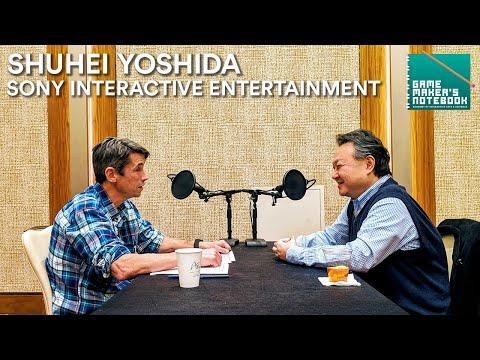 Shuhei Yoshida of Sony Interactive Entertainment | The AIAS Game Maker's Notebook