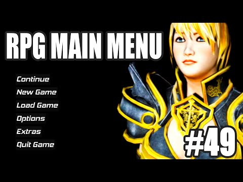 Creating A Main Menu With Multiple Cameras - Unreal Engine 4 Action RPG Tutorials #49