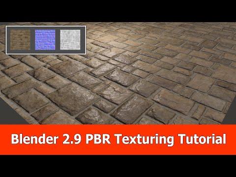 Blender 2.9 PBR Texturing Beginner Tutorial