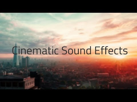 Cinematic Sound Effects Pack [ Free Download ]