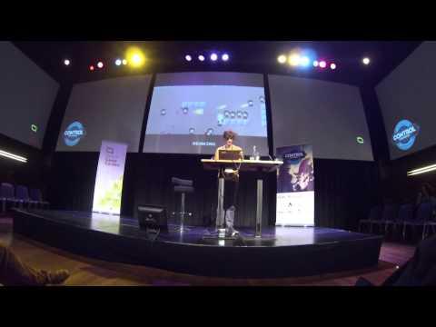 "Jan Willem Nijman - Vlambeer - ""The art of screenshake"" at INDIGO Classes 2013"
