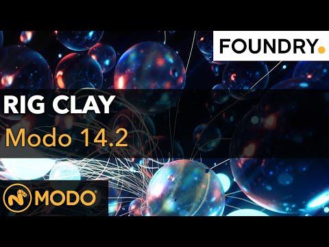 Modo 14.2 - Rig Clay