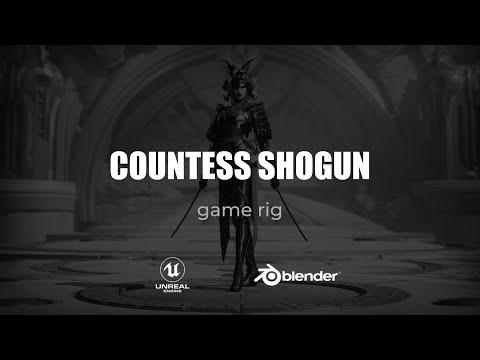 Countess Shogun Rigging - 00 - Project Intro