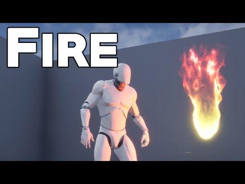 UE4 Tutorial: Fire Effect