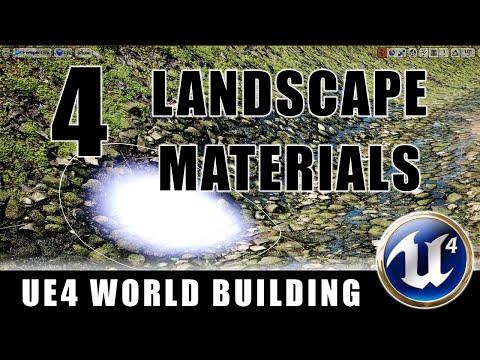 Landscape Materials - Building Worlds In Unreal - Episode 4