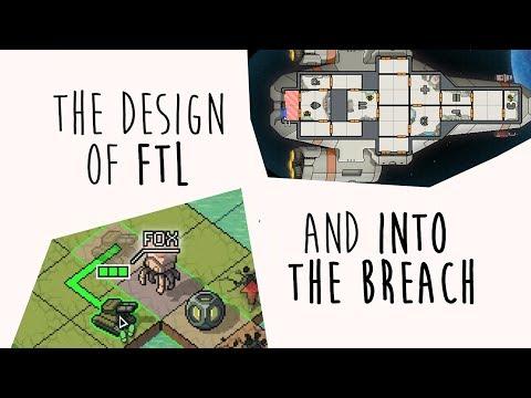 The Design of FTL & Into The Breach