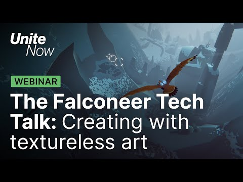 The Falconeer Tech Talk: Creating with textureless art   Unite Now 2020