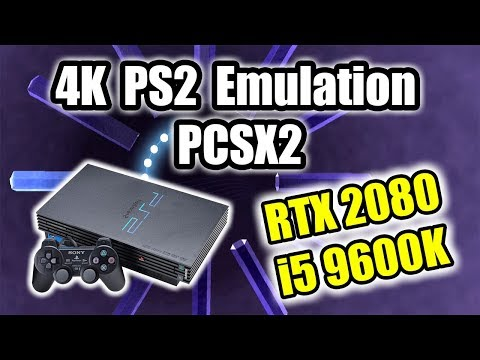 4K PS2 Emulation Test - 9600K + EVGA RTX 2080