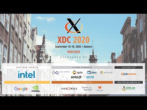 XDC 2020 - Day 3 - September 18, 2020