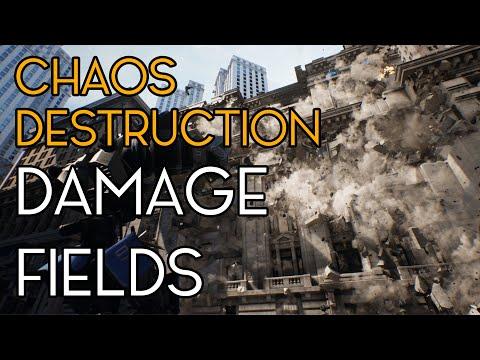 Chaos Destruction - Destruction Fields - Unreal Engine/UE4