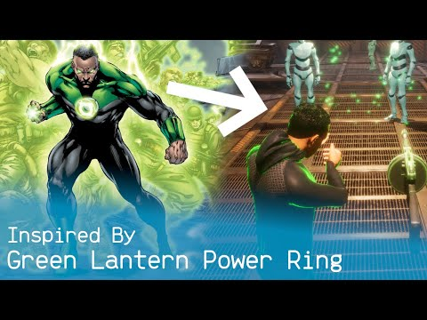 Recreating The Green Lantern Power Ring