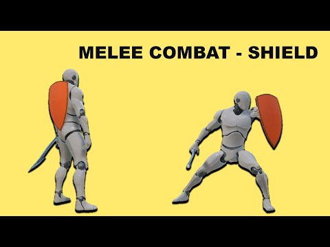 Unreal Sidescroller - Melee Combat Shield
