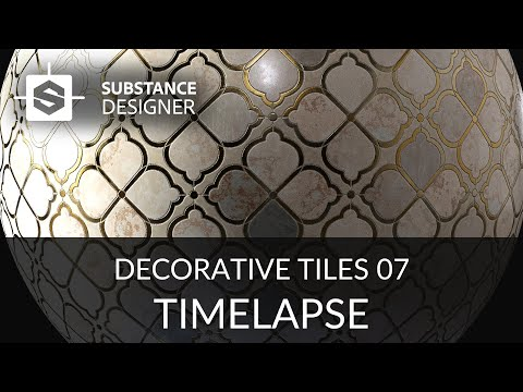 Substance Designer - Decorative Tiles 07