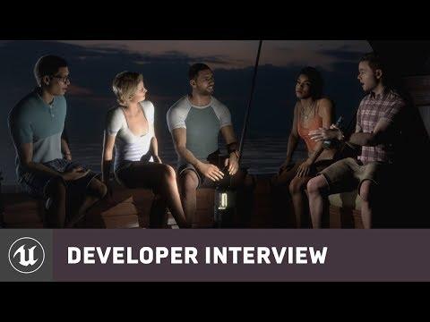 Man of Medan by Supermassive Games | E3 2019 Developer Interview | Unreal Engine