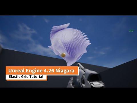 Unreal Engine 4 26 Niagara Elastic Grid Tutorial
