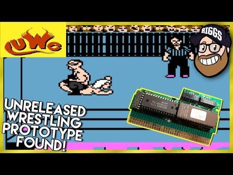 Unreleased NES Wrestling Game FOUND! UWC Wrestling