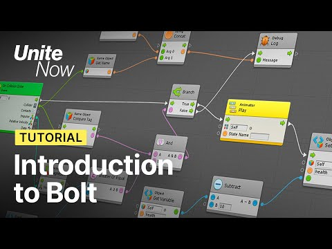 Introducing Bolt: Unity's new visual scripting tool | Unite Now 2020