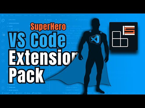 How to Create a VS Code Extension Pack | Top Extensions | Download SuperHero Extension Pack Now!!