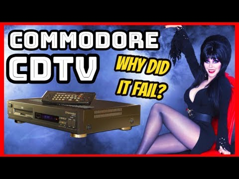 Why The Commodore CDTV Failed! - Full Console History!