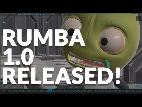 RUMBA 1.0 - 3D ANIMATION SOFTWARE -RELEASED! - REVIEW/WALKTHROUGH.