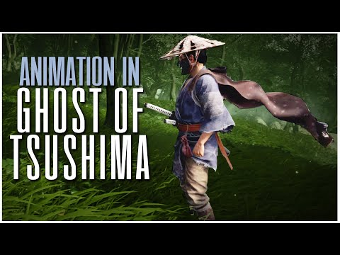 Animation in Ghost of Tsushima